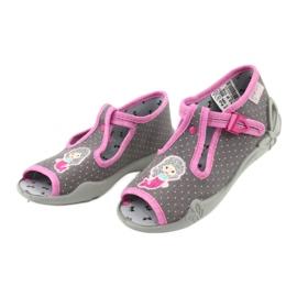 Încălțăminte pentru copii Befado 213P114 roz gri 4