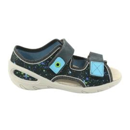 Pantofi pentru copii Befado pu 065P127 albastru gri multicolor 1