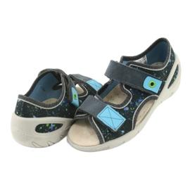 Pantofi pentru copii Befado pu 065P127 albastru gri multicolor 5