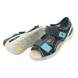 Pantofi pentru copii Befado pu 065P127 albastru gri multicolor 6