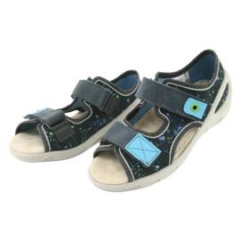 Pantofi pentru copii Befado pu 065P127 albastru gri multicolor 4