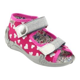 Încălțăminte pentru copii Befado 242P104 roz gri 2
