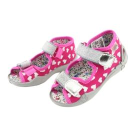 Încălțăminte pentru copii Befado 242P104 roz gri 4