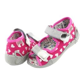 Încălțăminte pentru copii Befado 242P104 roz gri 5