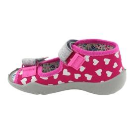 Încălțăminte pentru copii Befado 242P104 roz gri 3