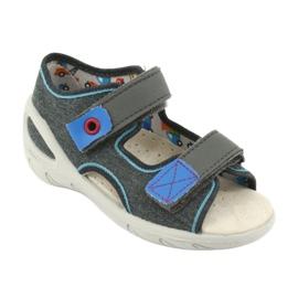 Încălțăminte pentru copii Befado pu 065P132 albastru gri 2