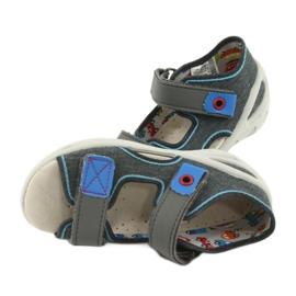 Pantofi pentru copii Befado pu 065X132 albastru gri 6
