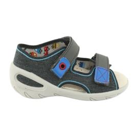 Pantofi pentru copii Befado pu 065X132 albastru gri 1