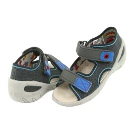Pantofi pentru copii Befado pu 065X132 albastru gri 5