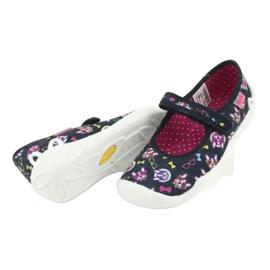 Încălțăminte pentru copii Befado 114Y359 albastru marin roz multicolor 6