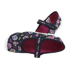 Încălțăminte pentru copii Befado 114Y359 albastru marin roz multicolor 7