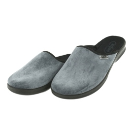 Befado bărbați pantofi pu 548M017 gri 4