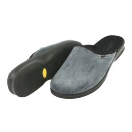 Befado bărbați pantofi pu 548M017 gri 5