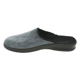 Befado bărbați pantofi pu 548M017 gri 3