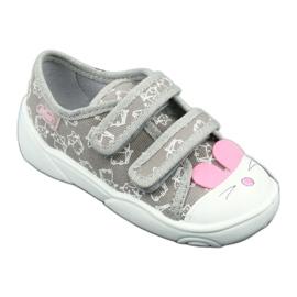 Încălțăminte pentru copii Befado 907P116 roz gri 2