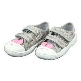 Încălțăminte pentru copii Befado 907P116 roz gri 4