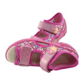 Pantofi pentru copii Befado 065X136 roz multicolor 3