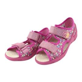 Pantofi pentru copii Befado 065X136 roz multicolor 2