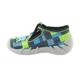 Încălțăminte pentru copii Befado 110P368 albastru gri multicolor verde 3