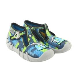 Încălțăminte pentru copii Befado 110P368 albastru gri multicolor verde 5