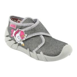 Încălțăminte pentru copii Befado 523P016 roz argint gri 2
