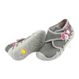 Încălțăminte pentru copii Befado 523P016 roz argint gri 4