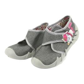 Încălțăminte pentru copii Befado 523P016 roz argint gri 3