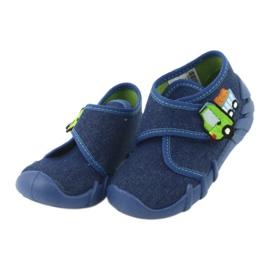 Încălțăminte pentru copii Befado 523P012 albastru marin albastru 3