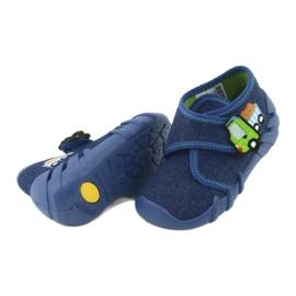 Încălțăminte pentru copii Befado 523P012 albastru marin albastru 4