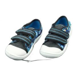 Încălțăminte pentru copii Befado 907P104 albastru gri multicolor 3