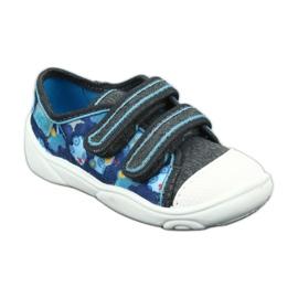 Încălțăminte pentru copii Befado 907P104 albastru gri multicolor 2