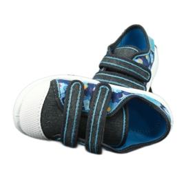 Încălțăminte pentru copii Befado 907P104 albastru gri multicolor 5