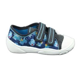 Încălțăminte pentru copii Befado 907P104 albastru gri multicolor 1
