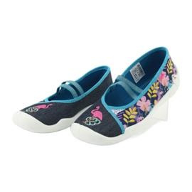 Încălțăminte pentru copii Befado 116Y270 albastru roz gri multicolor 4