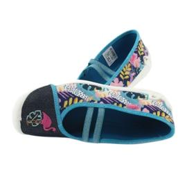 Încălțăminte pentru copii Befado 116Y270 albastru roz gri multicolor 6