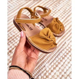 FRROCK Sandale galbene Goofy Velcro pentru copii 2