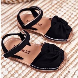 FRROCK Sandale galbene Goofy Velcro pentru copii negru 1