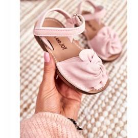 FRROCK Sandale pentru copii cu Velcro Pink Goofy roz 2