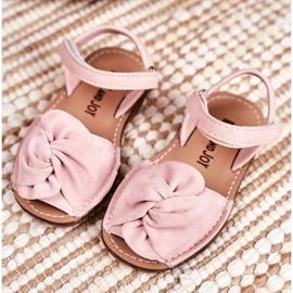 FRROCK Sandale pentru copii cu Velcro Pink Goofy roz 1