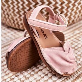 FRROCK Sandale pentru copii cu Velcro Pink Goofy roz 3