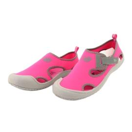 Sandale New Balance Sandal K K2013PKG negru roșu roz gri 2