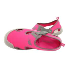 Sandale New Balance Sandal K K2013PKG negru roșu roz gri 4