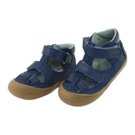 Sandale napi băieți Mazurek 1187 bleumarin albastru marin 2