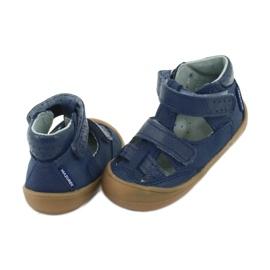 Sandale napi băieți Mazurek 1187 bleumarin albastru marin 3