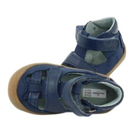 Sandale napi băieți Mazurek 1187 bleumarin albastru marin 4