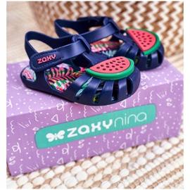 Sandale copii cu velcro pepene verde parfumat ZAXY FF3855013 albastru marin 5