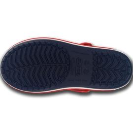 Sandale Crocs Crocband pentru copii 12856 485 alb roșu albastru 5