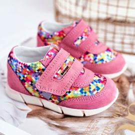 Bartek S.A. Încălțăminte pentru copii pentru fete Roz Bartek T-71949 / S19 1