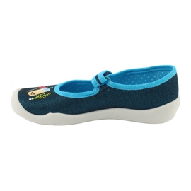 Încălțăminte pentru copii Befado 114Y385 albastru marin albastru 2
