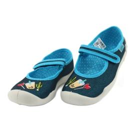 Încălțăminte pentru copii Befado 114Y385 albastru marin albastru 3